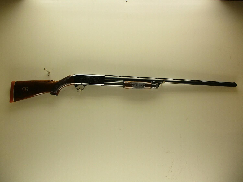 "57 Ithaca Gun Co. mod. 37 Featherweight 12 ga 2-3/4"" chamber pump shotgun vent rib full choke bbl 40th Anniversary Ducks Unlimited nice shotgun ser # 40DU0123"