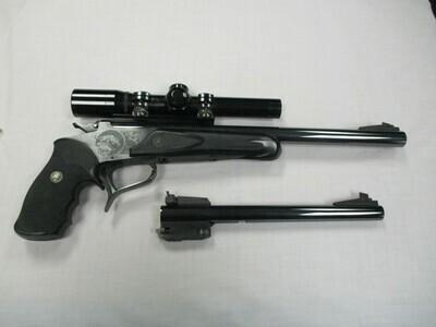54 Thompson Center Arms mod super 14 .223 cal single shot pistol