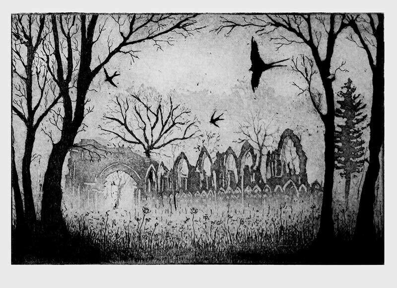 Swallows over the Abbey