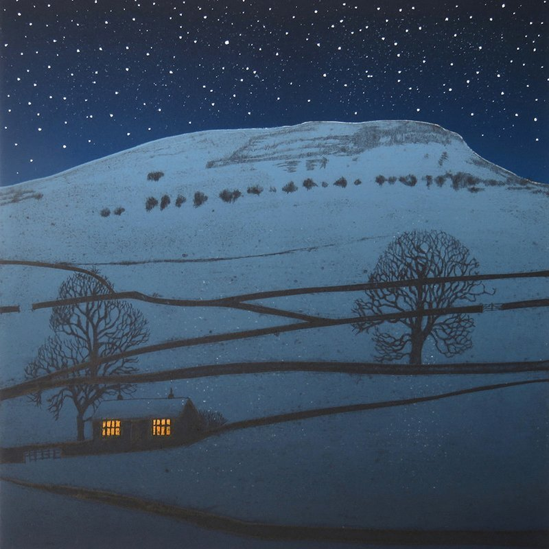 Silent Night - Gallery Artists Card