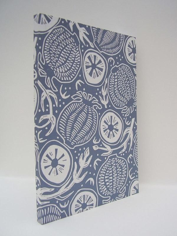 Hand-Printed Journal: Poppytops