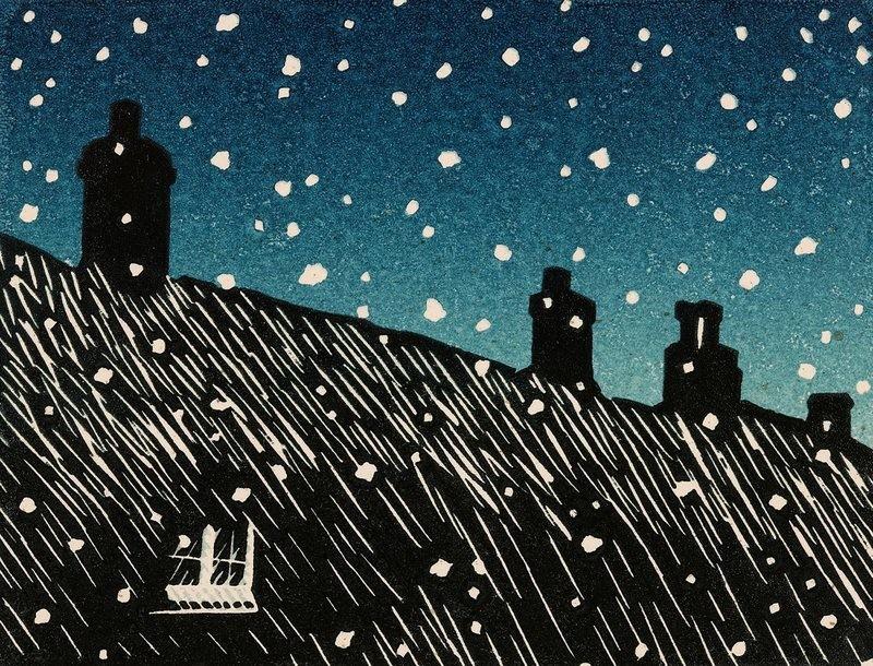 Evening Snow  - Card Pack