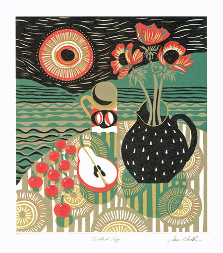 Spotted Jug- Printmakers Card