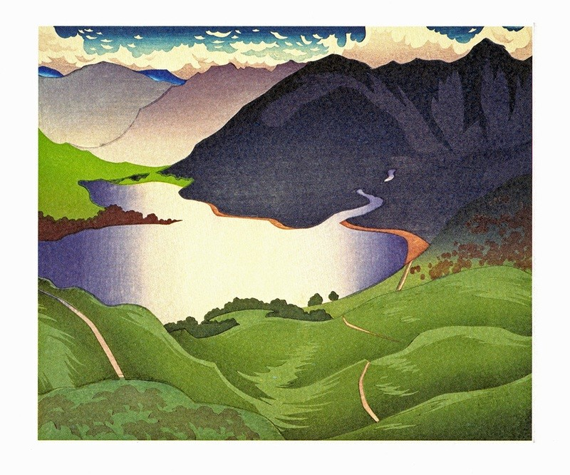 Loch Duich- Printmakers Card