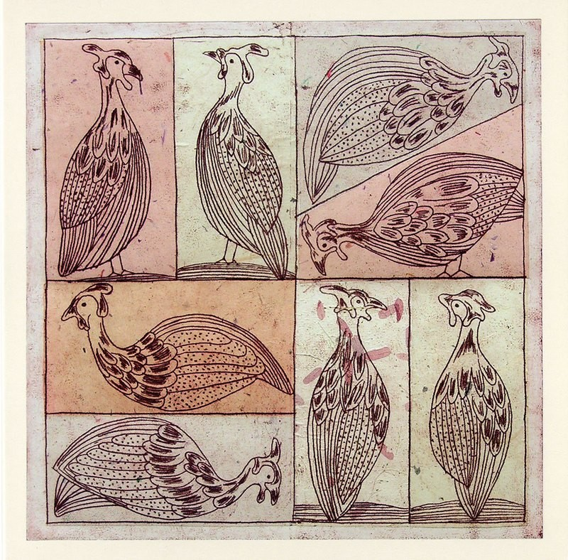 Guineafowls - Gallery Artists Cards.