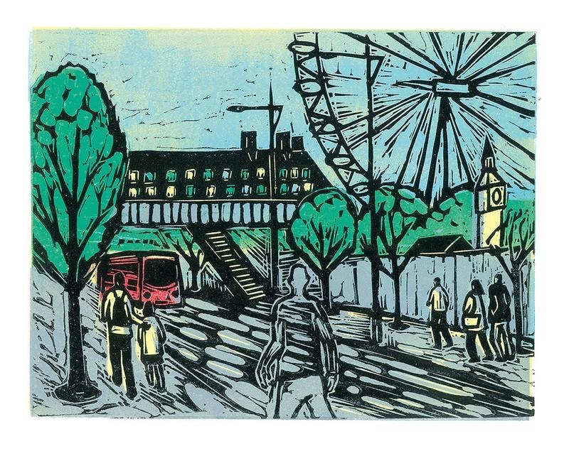 Waterloo- Gallery Artists Card
