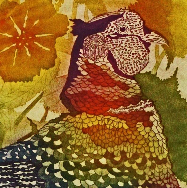 Wild Pheasant- Gallery Artist Card