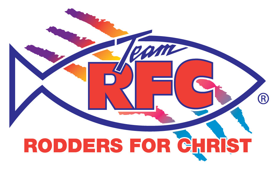 Rodders For Christ Decal Set X-Small 1 in x 2 in