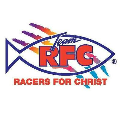Racers For Christ Decal Set XSmall