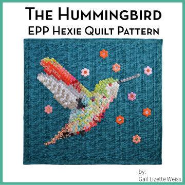 Hexie Hummingbird Quilt Pattern QP00010