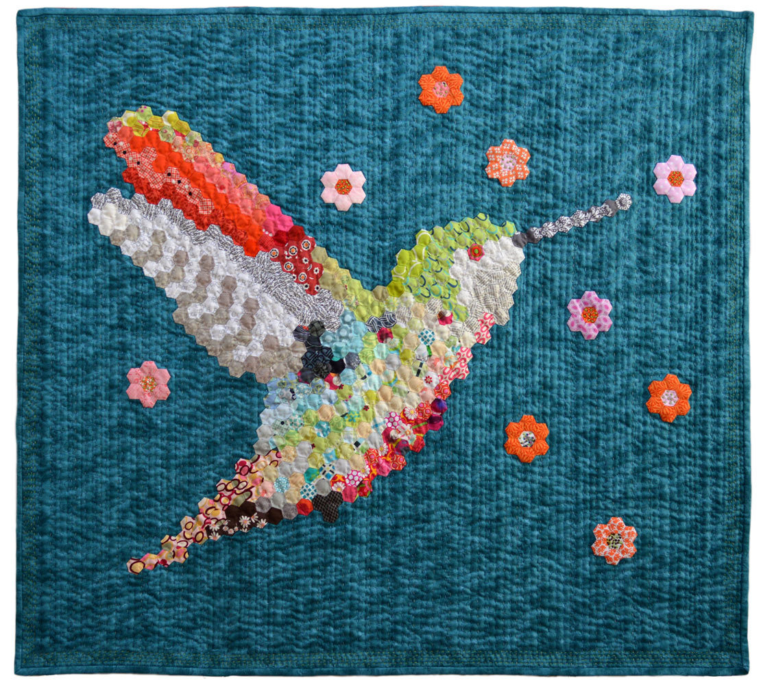Hexie Hummingbird No.2 by Gail Lizette Weiss