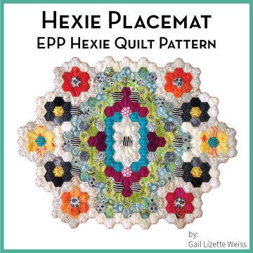 Hexie Placemat Quilt Pattern QP00015