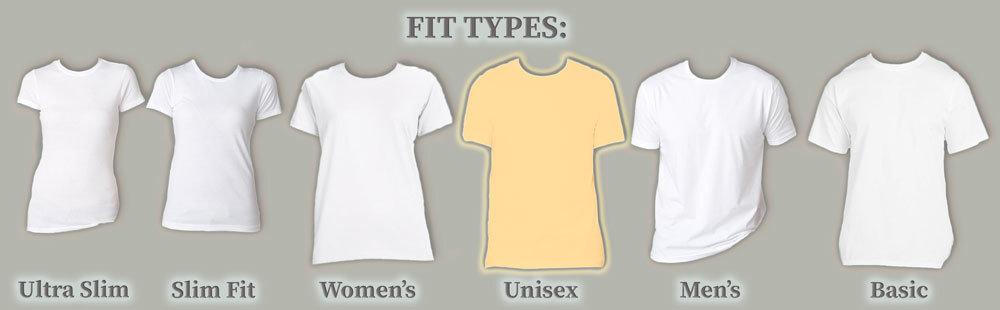Fit Type: Unisex
