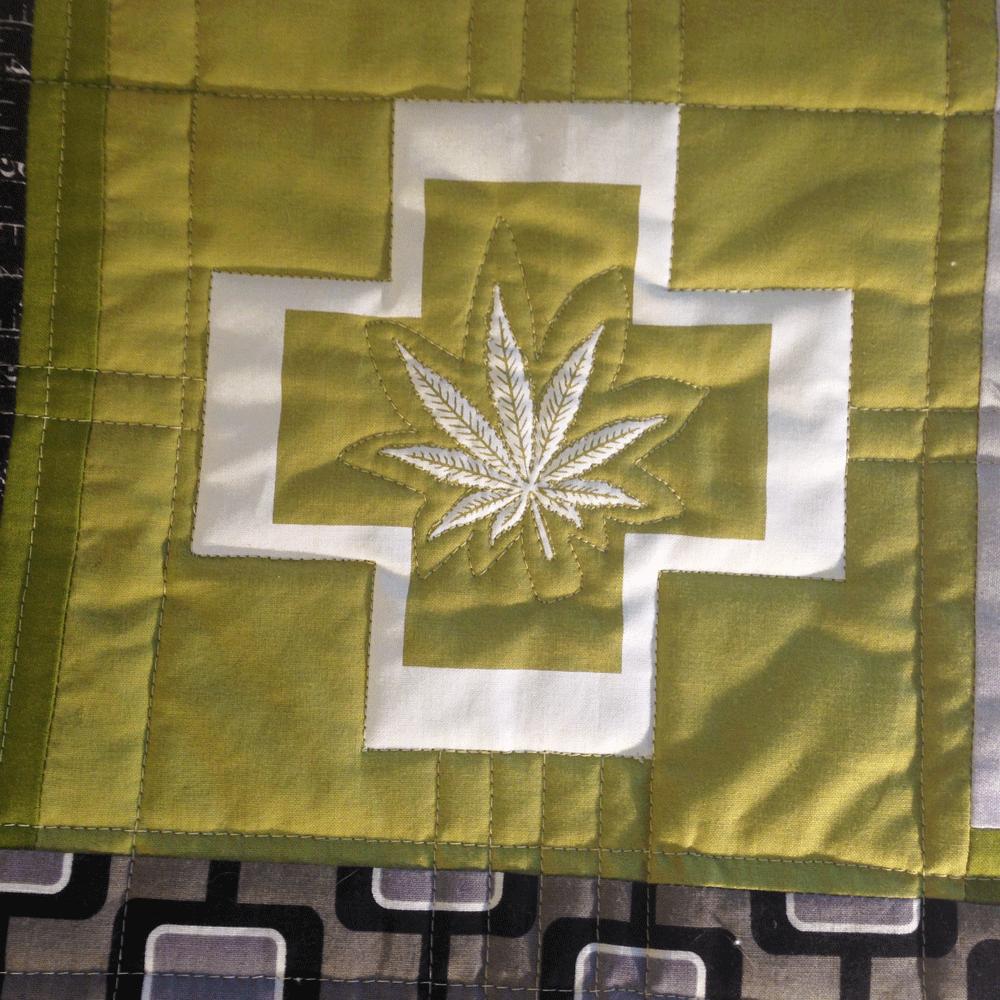 Cannabis Pillow No.2 Focus