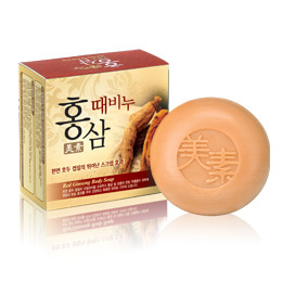 MISO Red Ginseng Body Scrub Soap