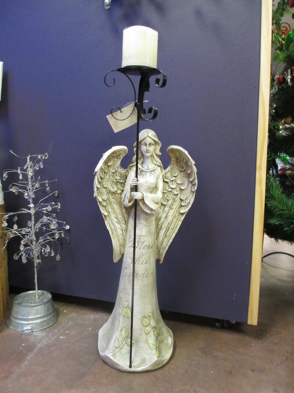 Garden Angel Candleholder