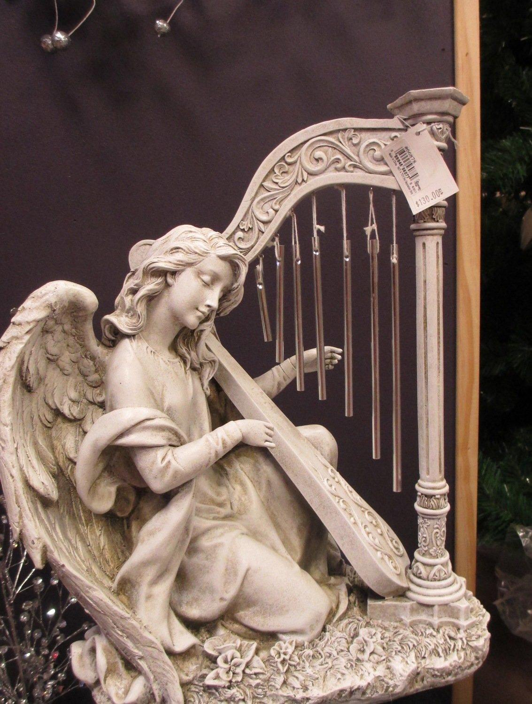 Kneeling Angel Windchime