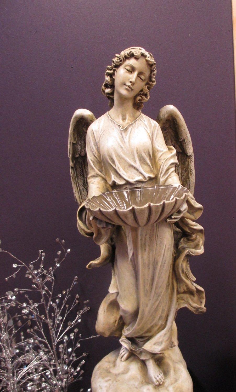 Solar Powered Angel Birdfeeder
