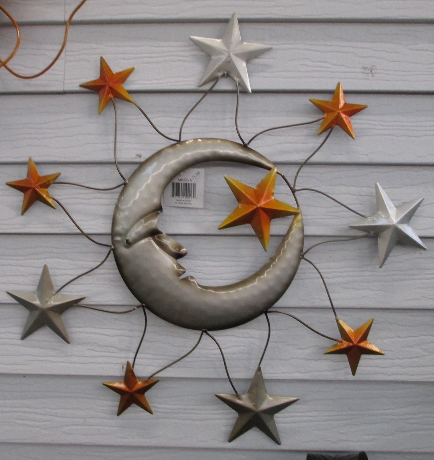 Moon and Stars Wall Art