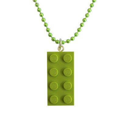 Light Green LEGO® brick 2x4 on a 24