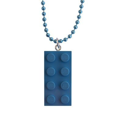 ​Light Blue LEGO® brick 2x4 on a 24