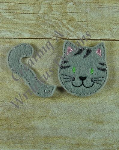 Cat Heads & Tails Feltie