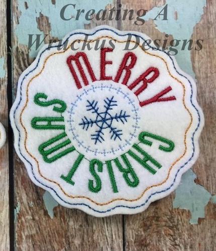 Christmas Stamp Ornament