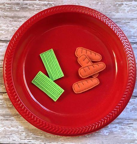 Celery & Carrot Snack
