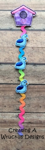 Birdhouse Braid-In Feltie