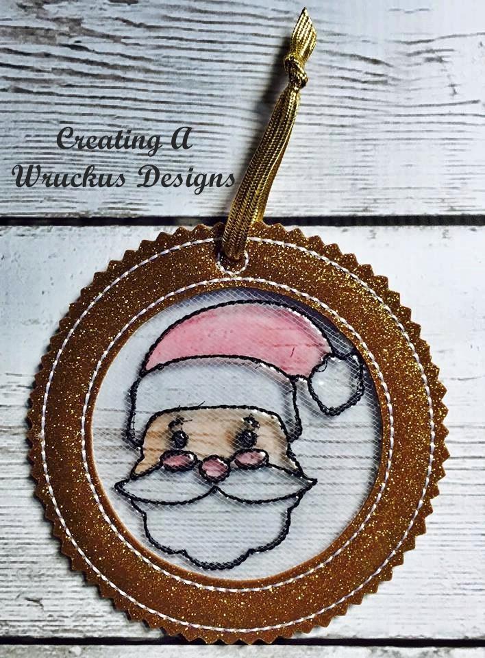 Santa Color Catcher Ornament