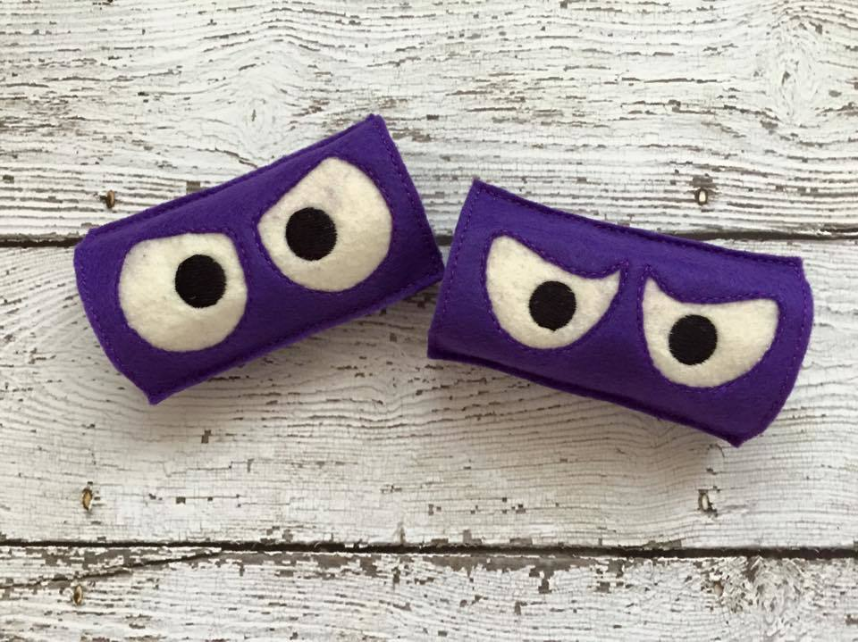 Spooky Eye Toilet Roll Set 3
