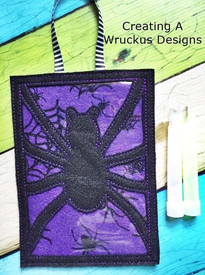 Spider Glow Frame