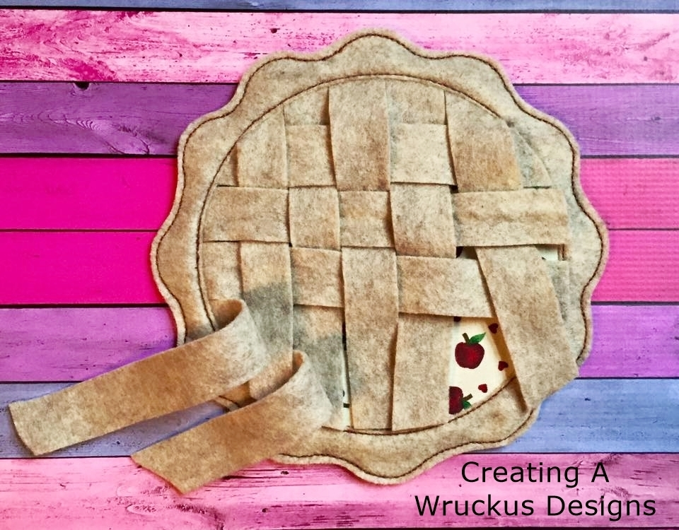 Pie Crust Weaving