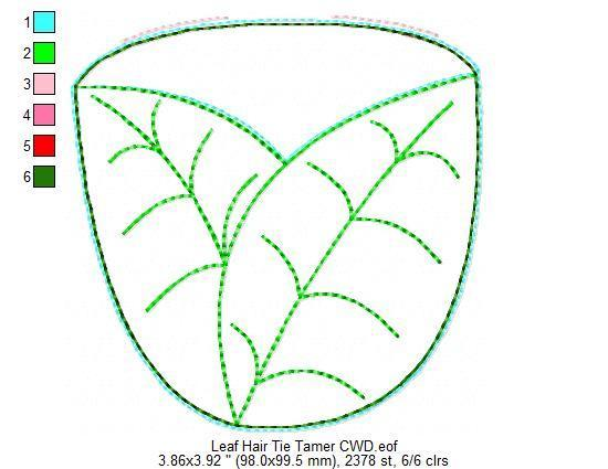 Leaf Hair Tie Tamer