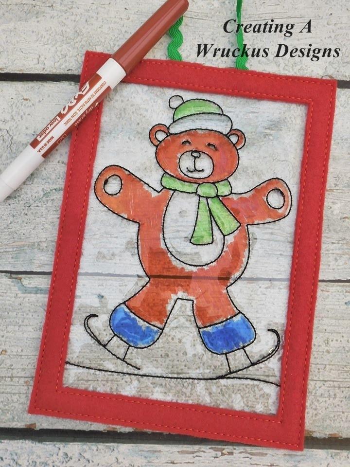 Skating Bear Color Catcher