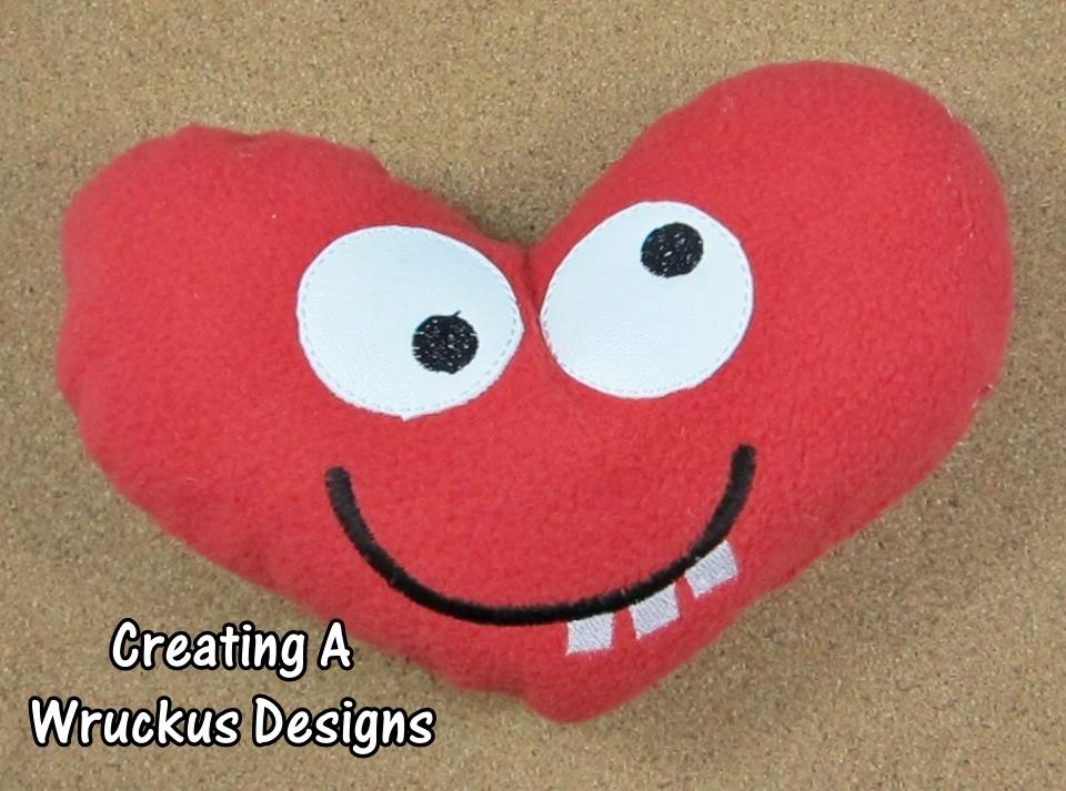 Goofy Stuffed Heart