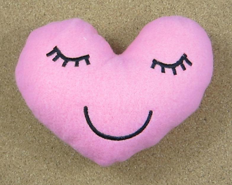 Sleeping Stuffed Heart