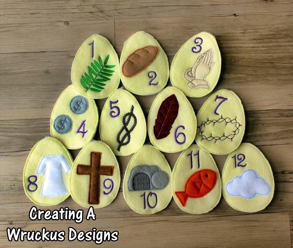 Resurrection Easter Egg Set