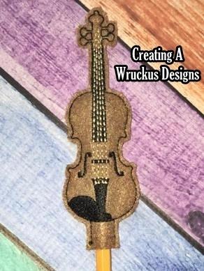 Violin Pencil Topper