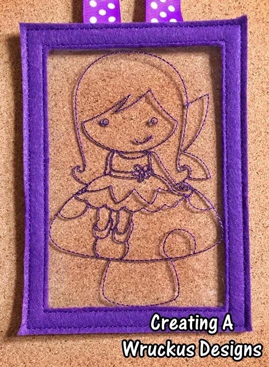 Sitting Fairy Color Catcher