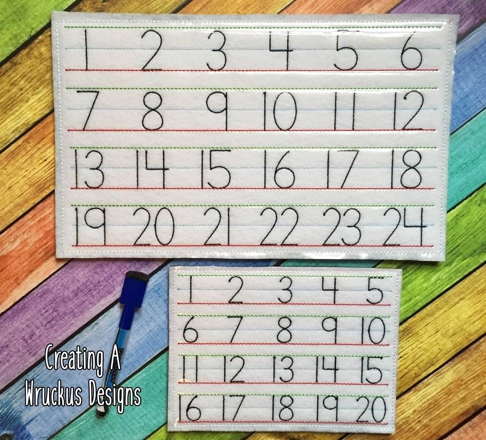 Number Writing Board