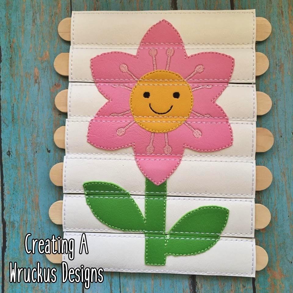 Flower Stick Puzzle