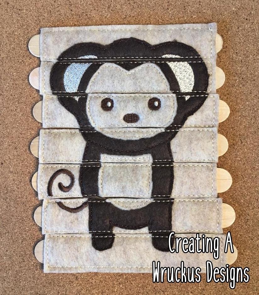 Monkey Stick Puzzle