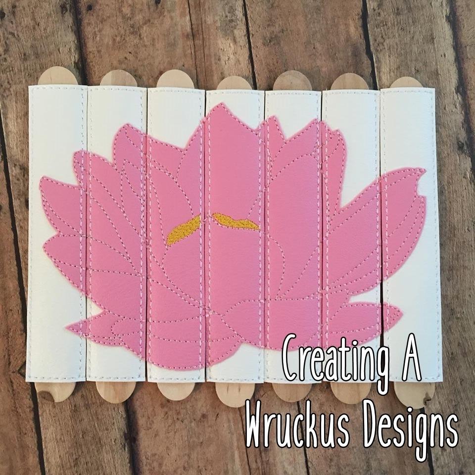 Lotus Stick Puzzle