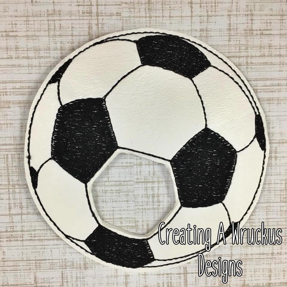 Soccer Ball Napkin Ring