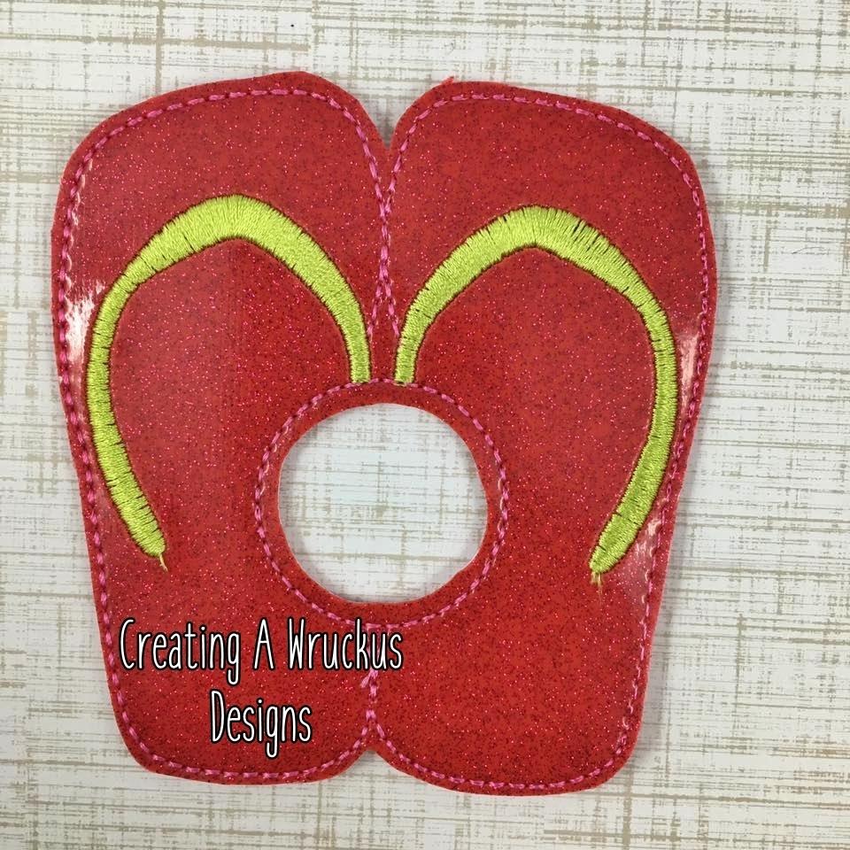 Flip Flop Napkin Ring