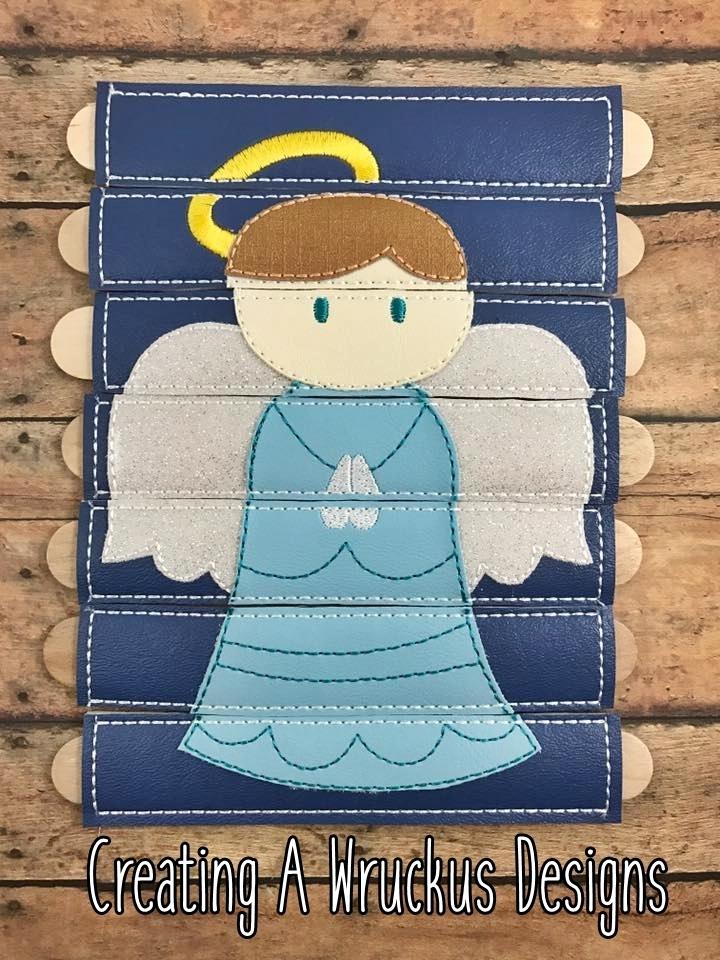 Angel Stick Puzzle