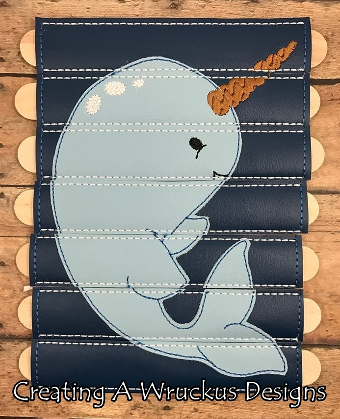 Narwhal Stick Puzzle