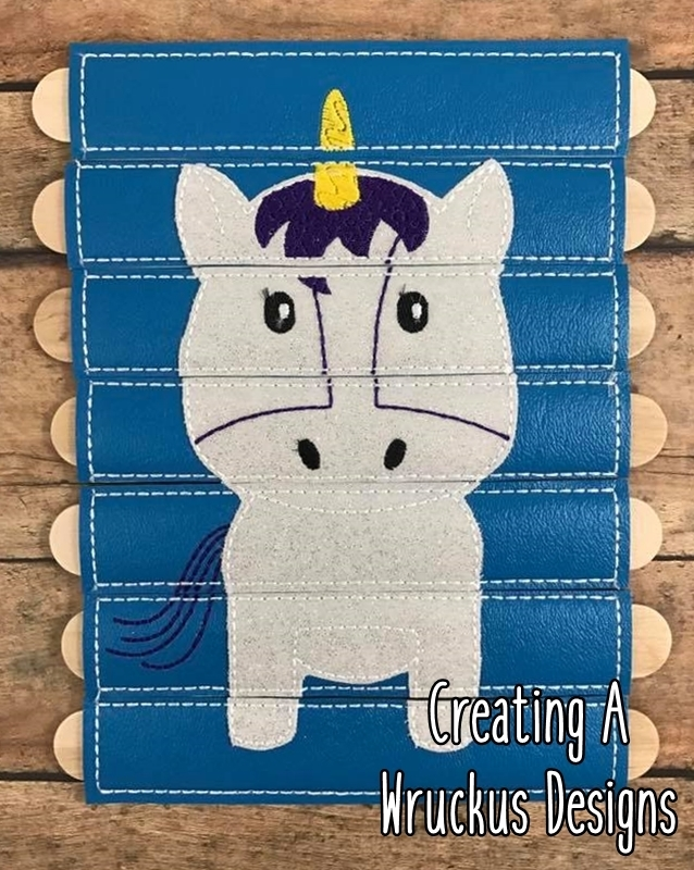 Unicorn Stick Puzzle