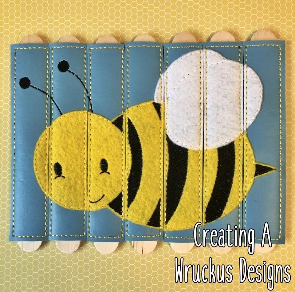 Bee Stick Puzzle